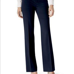 Lafayette 148 Blue Delancey Pants